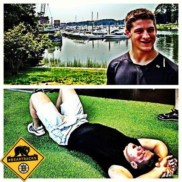 Torey Krug Pre Workout Torey Krug Post Workout Beartracks Boston Bruins Hockey Players Post Workout