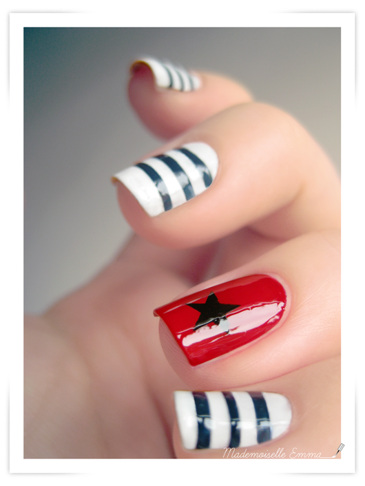 Jean-Paul Gaultier for Coca-Cola inspiration | On my nails | Pinterest