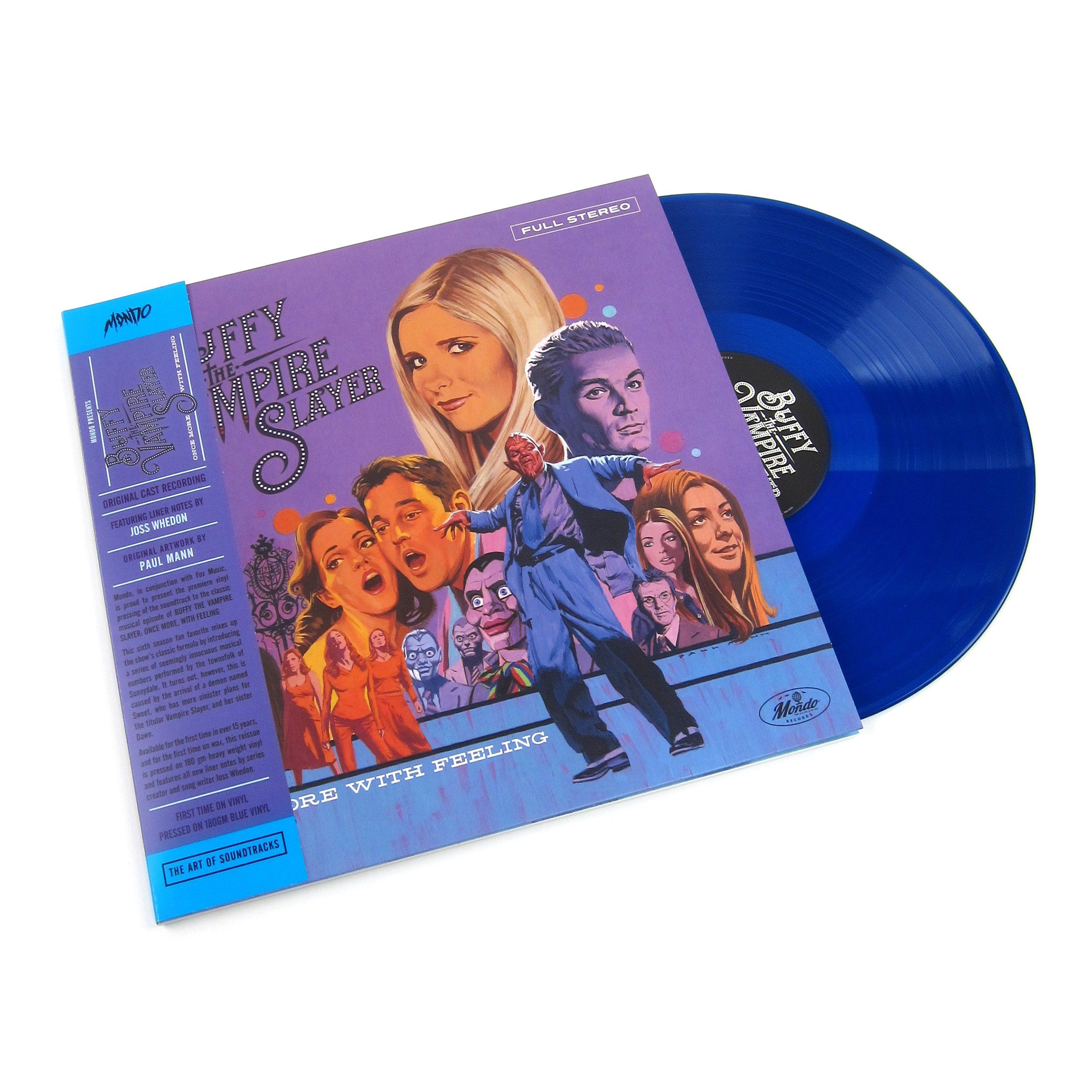 Buffy The Vampire Slayer Buffy The Vampire Slayer Once More With Feeling Soundtrack 180g Colored Vinyl Vinyl Lp Vampire Slayer Buffy Buffy The Vampire
