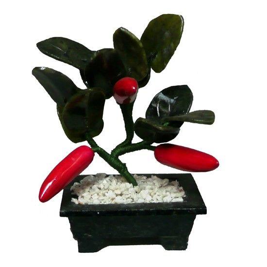 Arbol de la prosperidad de tres 03 ajies y jade feng - Feng shui para la prosperidad ...