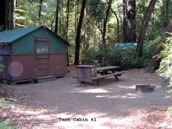 Big Basin Redwoods tent cabins. One of my favorite vacations ever. & Big Basin Redwoods tent cabins. One of my favorite vacations ever ...