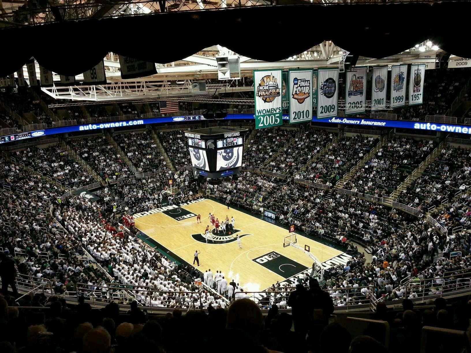 Breslin Center Michigan State Stadium Michigan
