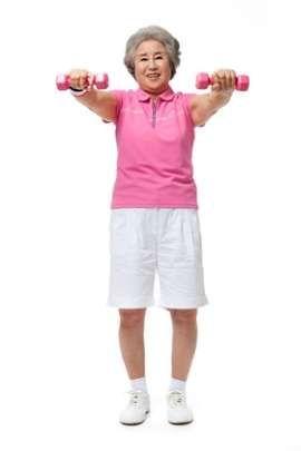 """중년에 좋은 몸의 변화, """"약간의 과체중이 유리"""""""