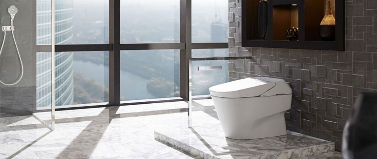 Modern Toilet Gets A High Tech Makeover Consumer Reports Smart Toilet Toto Toilet Bathroom Design