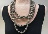 Photo of Amazing Old Coin Silver Necklace from India  Amazing Old Coin Silver Necklace fr…