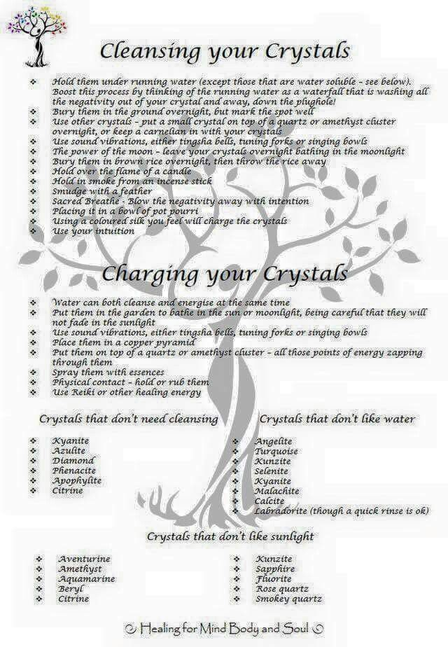 Crystals stones cleansing and charging your crystals healing crystals stones cleansing and charging your crystals fandeluxe Images