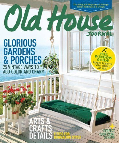 Old House Journal (1 Year) Magazine Subscription Active Interest Media,  Http: