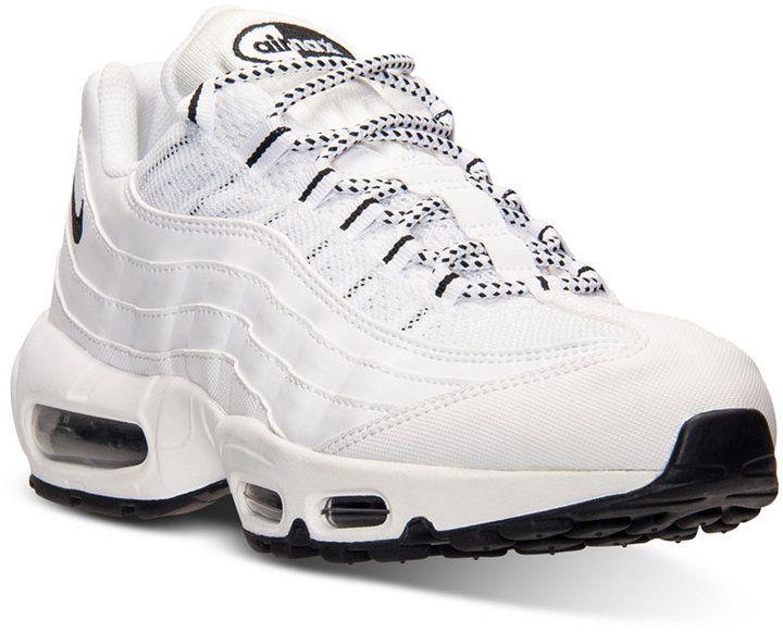nike air max 95 in scarpe da ginnastica maschile dal traguardo correndo