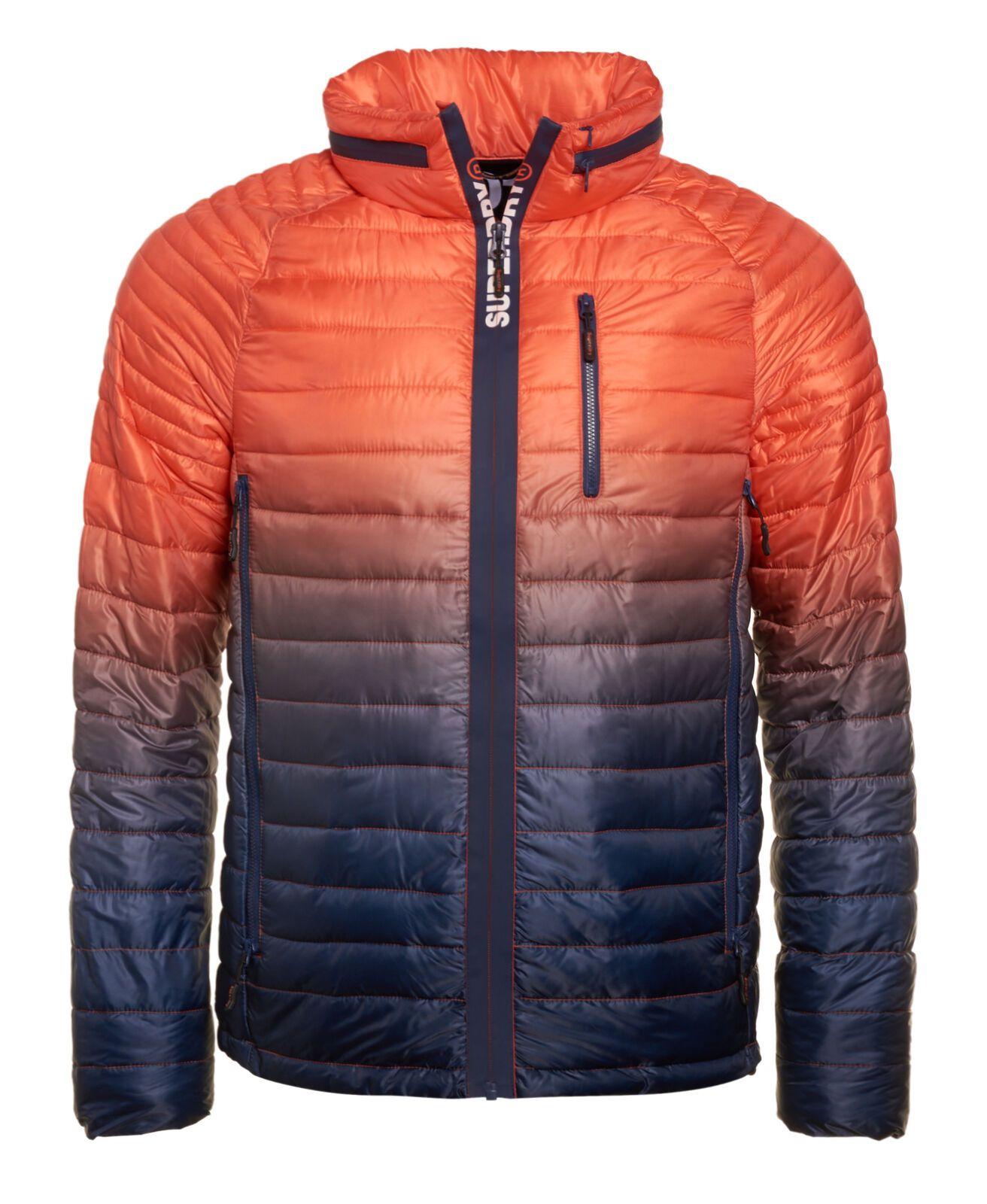 Details About New Mens Superdry Mens Power Fade Jacket Ink Orange Superdry Jackets Track Suit Men Jackets