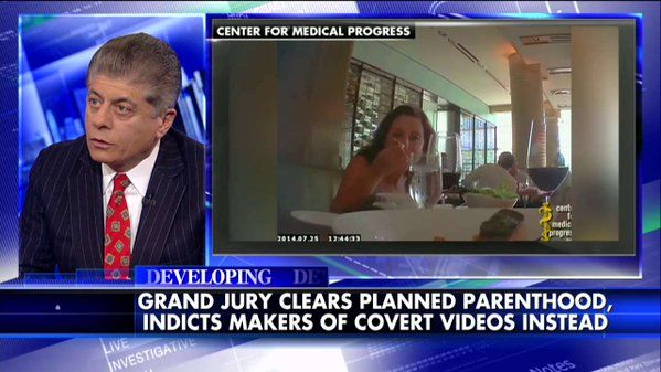 MT @FoxNews: @Judgenap on indicting filmmaker... 'Absolutely this is a political hit job.'  #WakeUpAmerica #PJNET