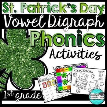 Character Development Worksheet For Writers Pdf St Patricks Day Vowel Digraph Phonics Worksheets And Activities  Math Practice Worksheets For Kindergarten Word with Conjunctions Worksheets Grade 4 Excel Phonics Worksheets Dividing Whole Numbers Worksheet Excel
