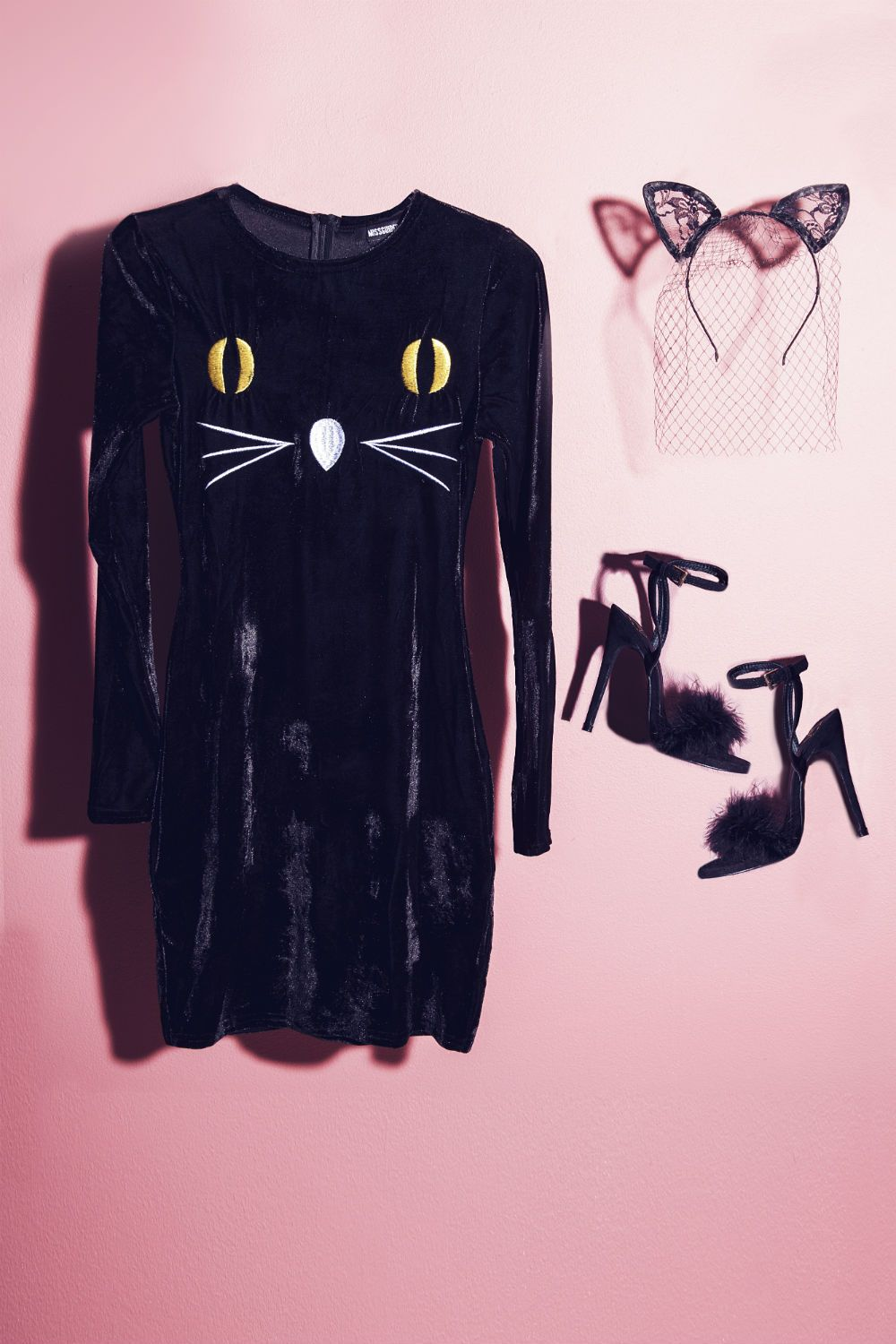 feline fresh this halloween? rock lace c#at ears with a #missguided