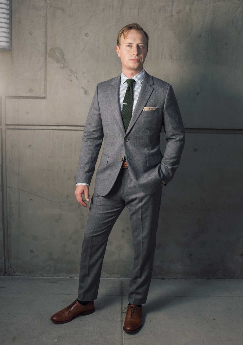 50 Ways To Wear A Grey Suit forecasting