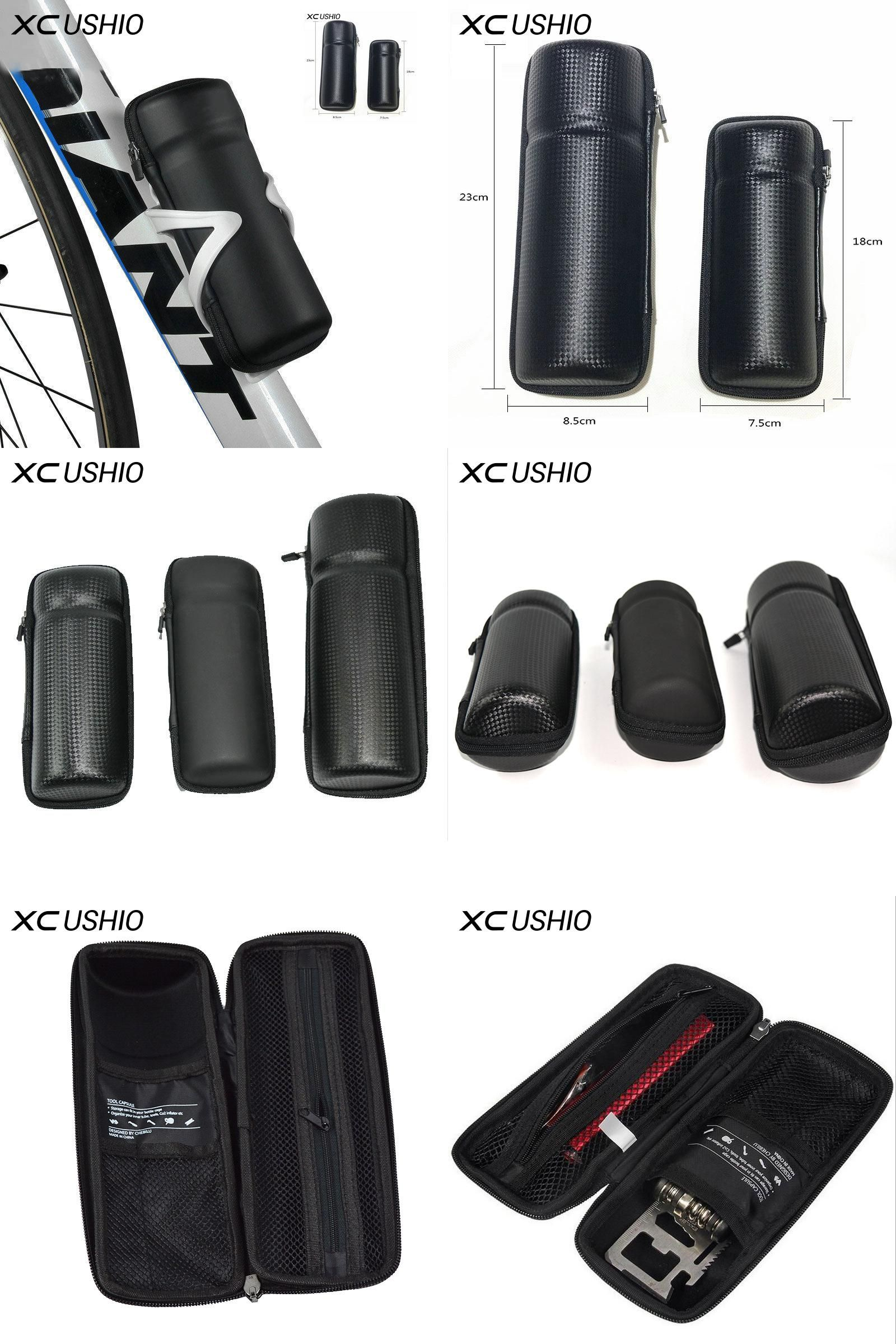 Cycling Tool Capsule Boxes Apply Bottle Cage Can Store Keys Repair Tools Kit Set Case Bike Storage Box Bicycle Tool Bag