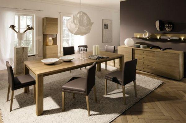 Ideen Für Das Esszimmer Design Von Hulsta   Braune Möblierung