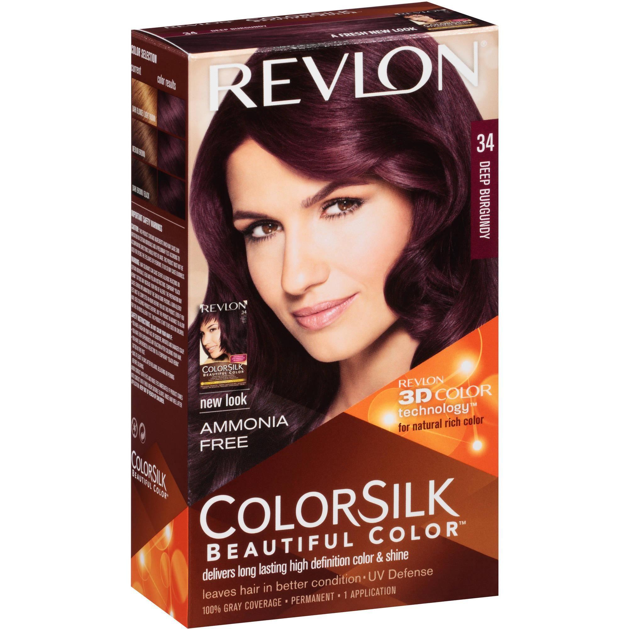 Revlon® Colorsilk Beautiful Color™ Permanent Liquid Hair color ...