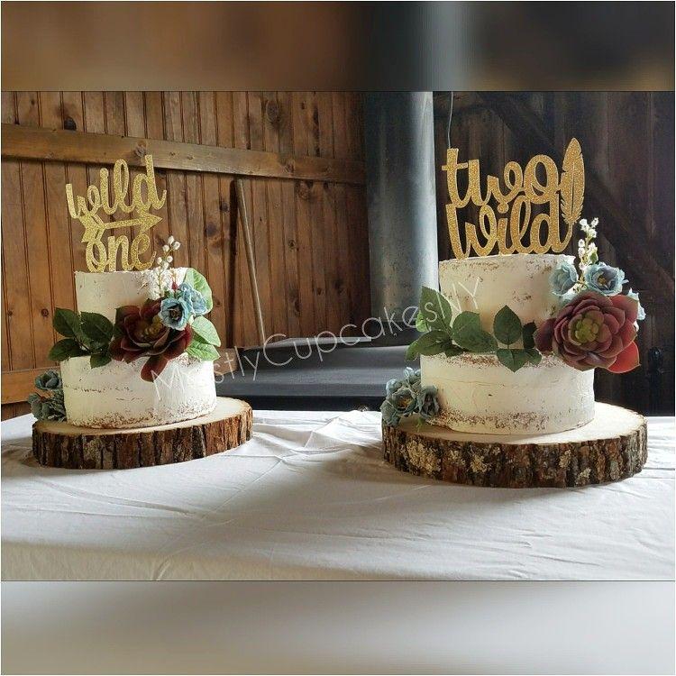 Naked Cake Birthday Cake Wild One Two Wild Cakes