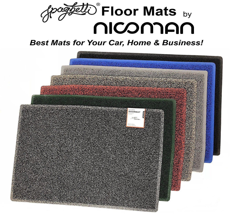 Nicoman Dirt Trapper Barrier Door Mat Heavy Duty Outdoor Indoor Floor Matt 60x40cm Red Black Home Online Shopping Floor Mats Washable
