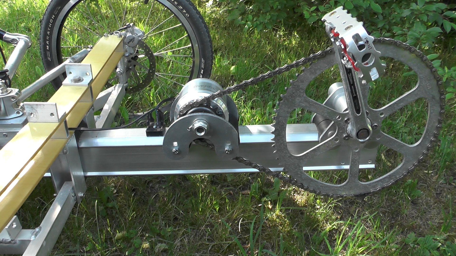 A pedal generator for a chainless bike or human power ...