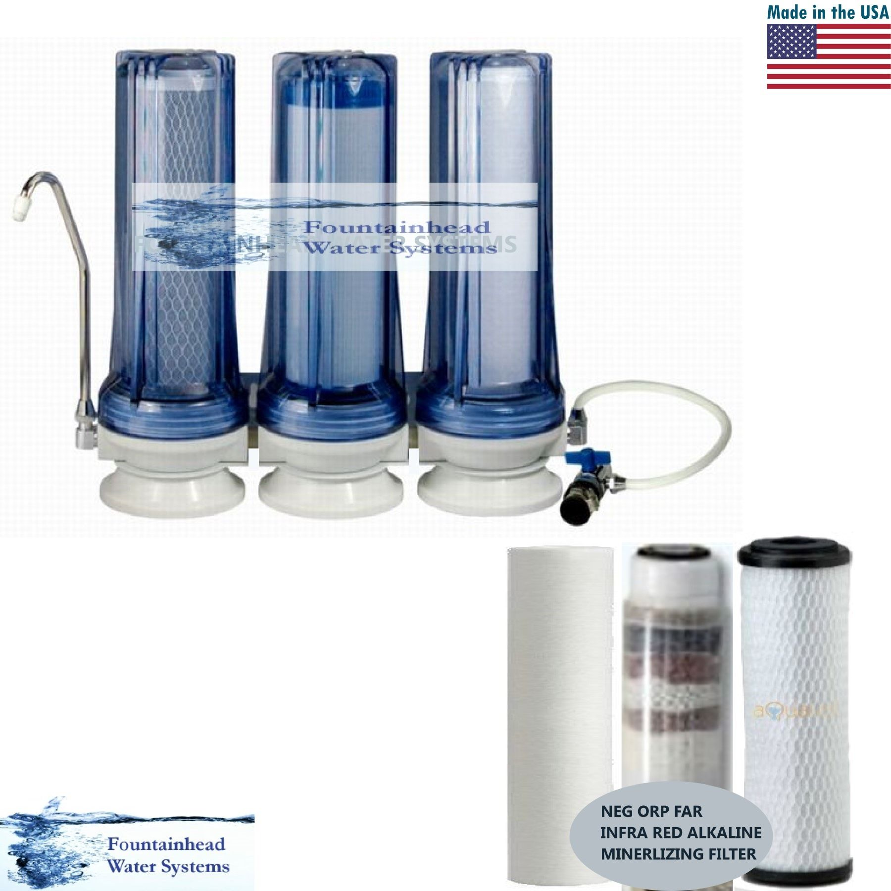easy to set up portable counter top filters counter top water