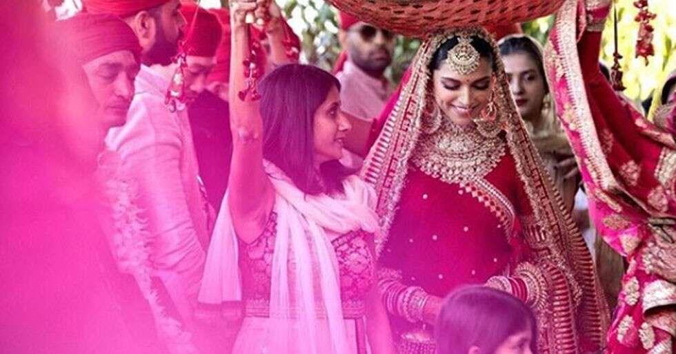 Wedding Style Diaries Deepika Padukone Bollywood Wedding Celebrity Weddings Sabyasachi Bridal