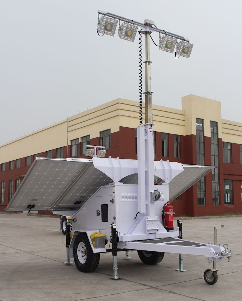 Solar Light Tower Light Tower Refugee Camps Solar Light Tower Mobile Light Towers Job Site Solar Light Tower Por Light Trailer Solar Lights Portable Light