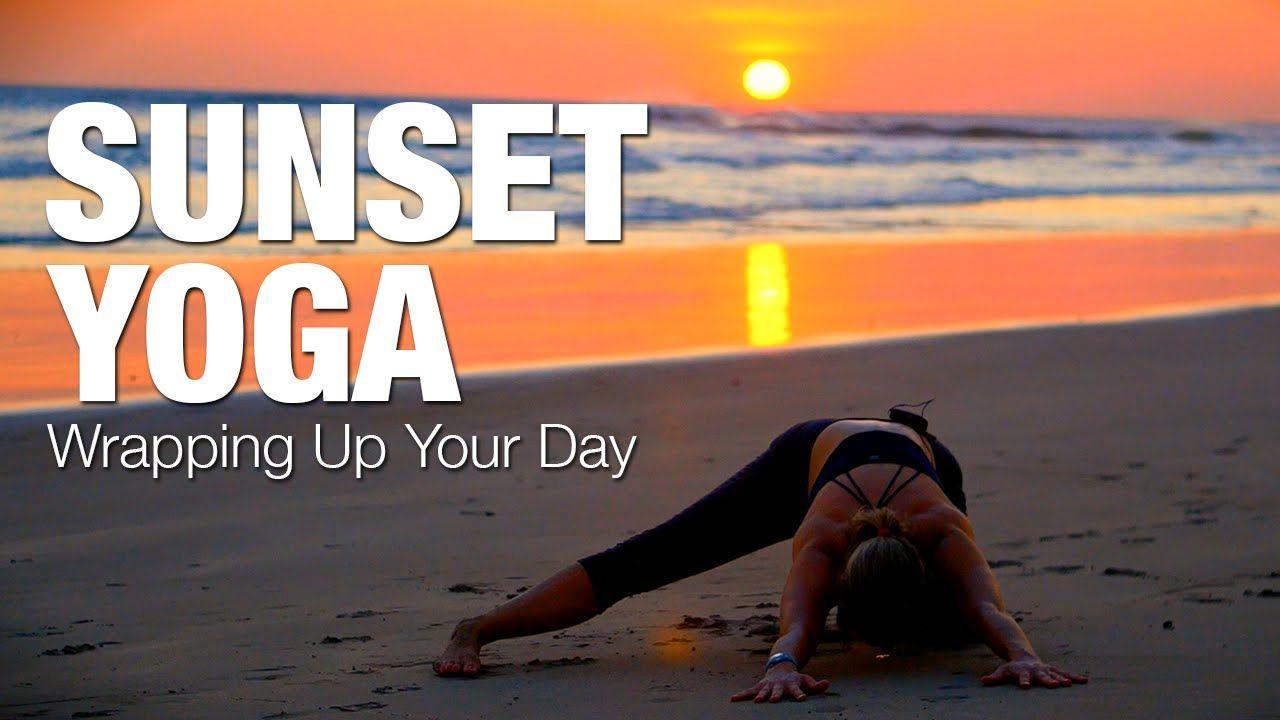 Sunset Yoga Class From Nicaragua Five Parks Yoga Yoga Youtube Yoga Yoga Friends