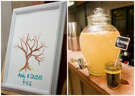 Chelsea and Andy's Rustic and Relaxed Homemade Wedding