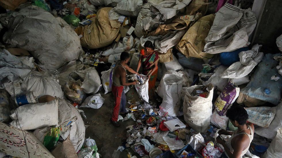 India stops waste plastic imports as China's 'recycled