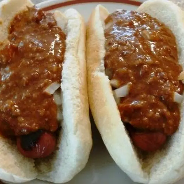 How To Make Hot Dog Chili Recipe Yummly Recipe Hot Dog Chili Hot Dog Sauce Recipe Hot Dog Chili Sauce