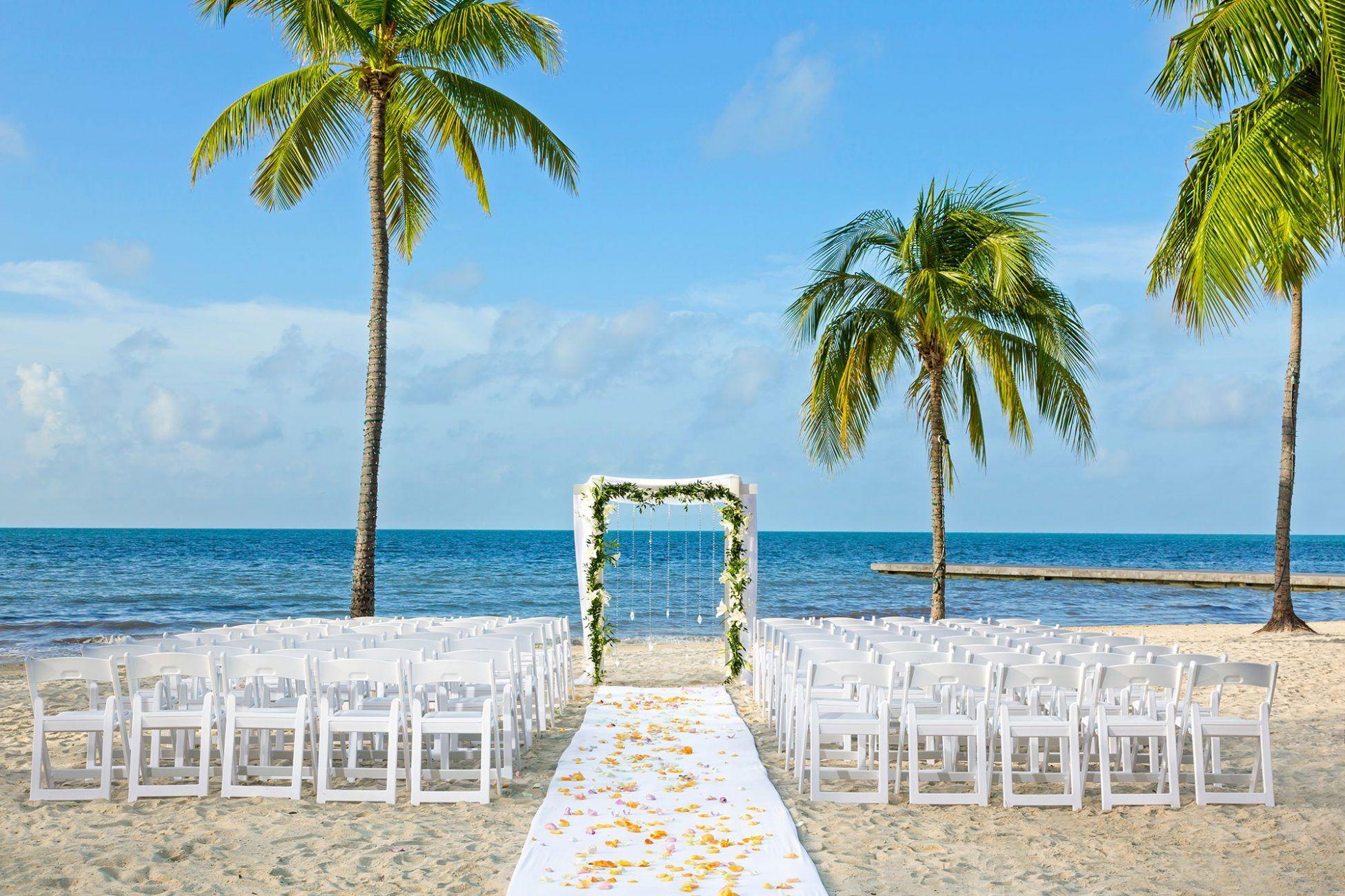 Key West Florida Destination Weddings Beach wedding