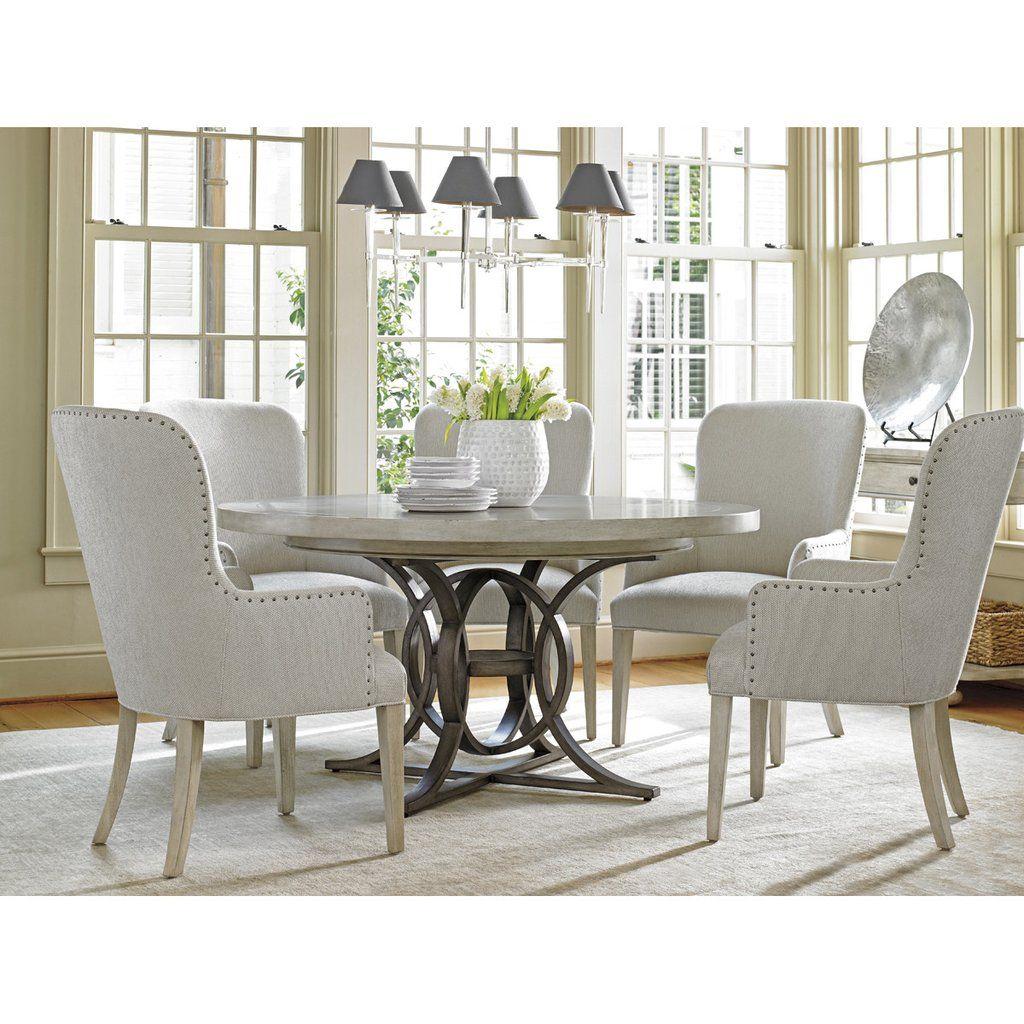 Ordinaire Lexington Oyster Bay Calerton Round Dining Table