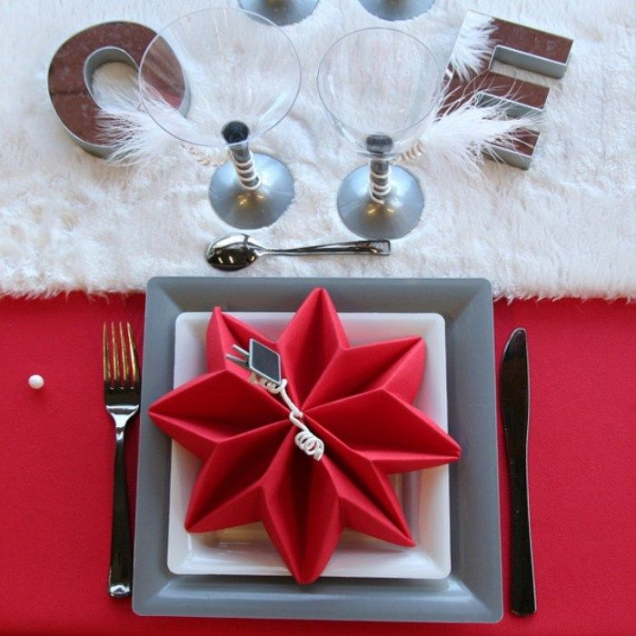 Hochwertig Serviette Falten Weihnachten Fair Nett On Innen Und Aussen Architektur Mit  Servietten Zu Weihnachten 7 | Idee Per La Casa | Pinterest