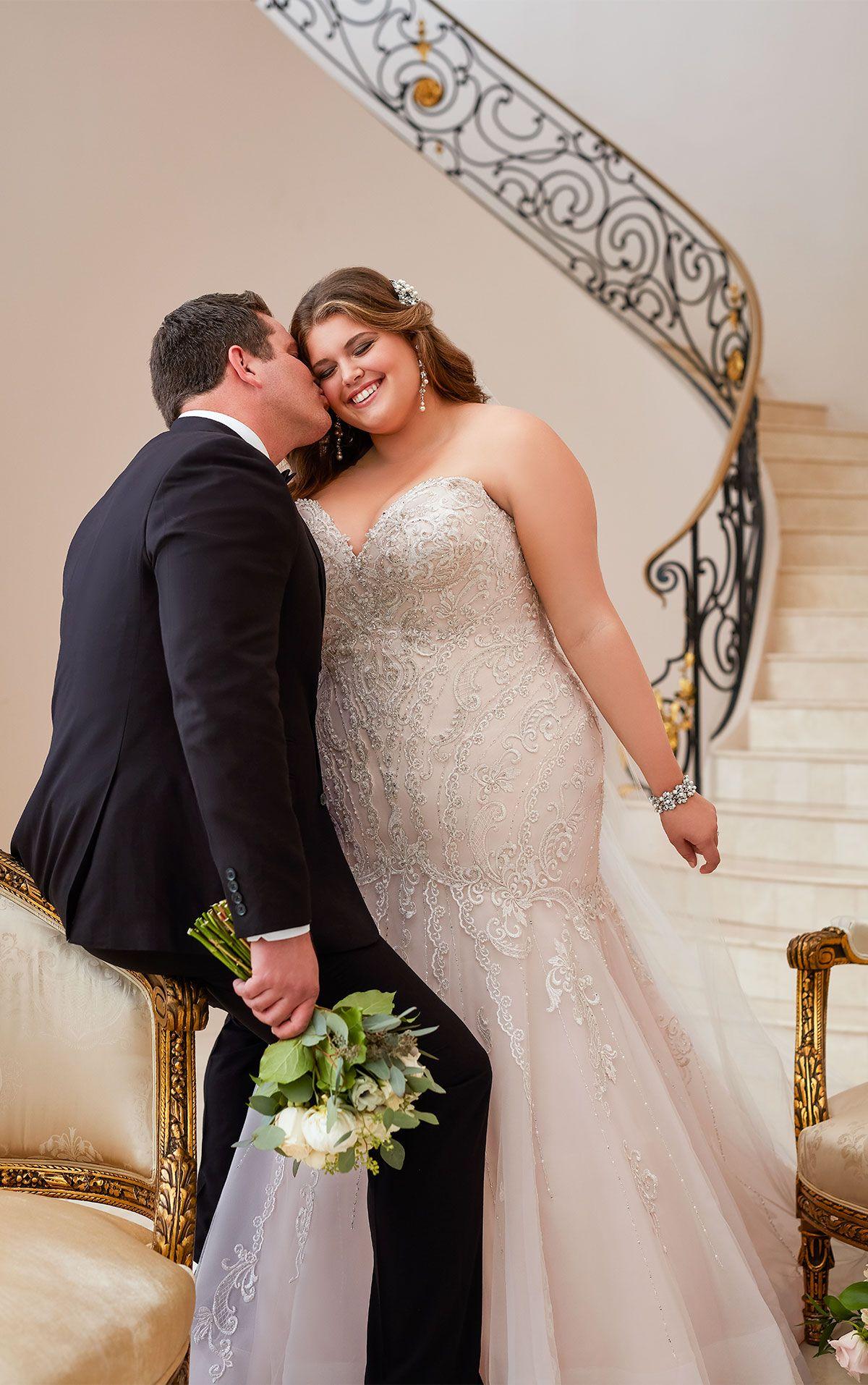 Mermaid Wedding Dress with Glamorous Lace Sell wedding