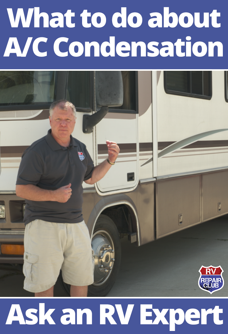 What to Do About A/C Condensation (With images) Rv
