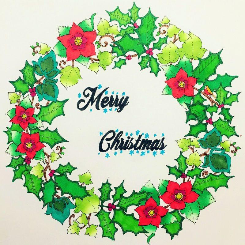 Johannas Christmas By Johanna Basford