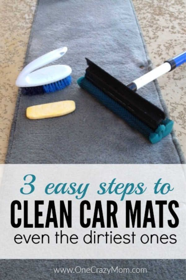 How to clean car mats - The best way to clean car mats