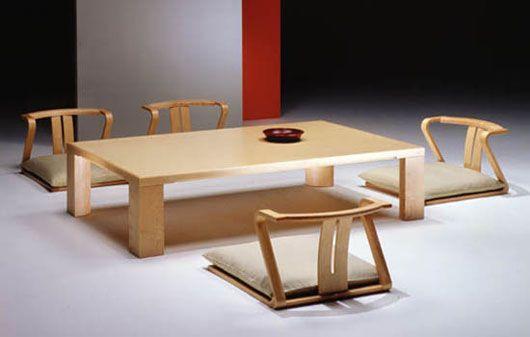 Wonderful Minimalist Japanese Dining Room Furniture Design