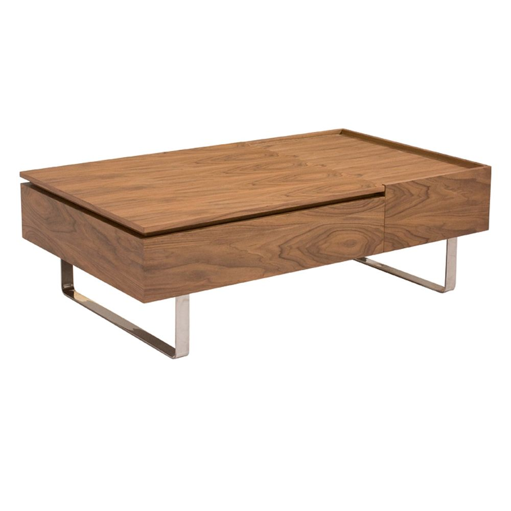 reveal coffee table walnut - dwell | # DECOR + coffee tables / table ...
