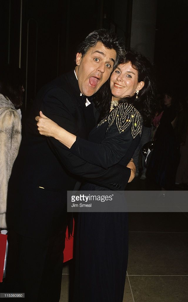 Jay Leno and Wife during 1st Annual Fire and Ice Ball to Benefit Revlon UCLA Women Cancer Center at Beverly Hilton Hotel in Beverly Hills, California, United States.