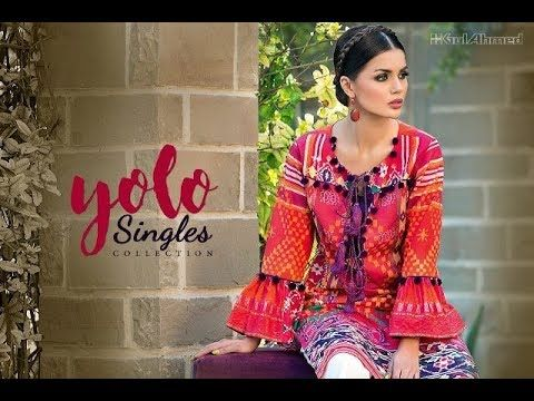 New Gul Ahmed Winter Silk Collection 2018 for women   Fashion