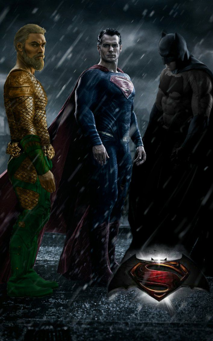 Batman V Superman V Aquaman By Jbeam925 Batman Aquaman Artwork