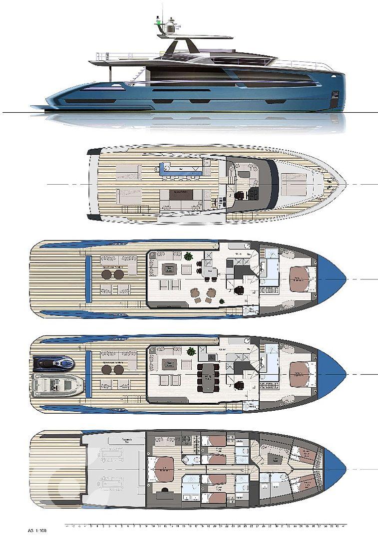 Van Der Valk Unveils New Pilot Yacht Range In 2020 Yacht Design Yacht Yacht Broker