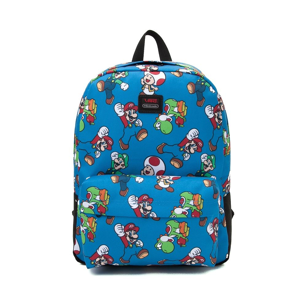 04724245ebe Nintendo and Vans Mario and Friends Backpack | JERICHO'S 5TH BDAY ...