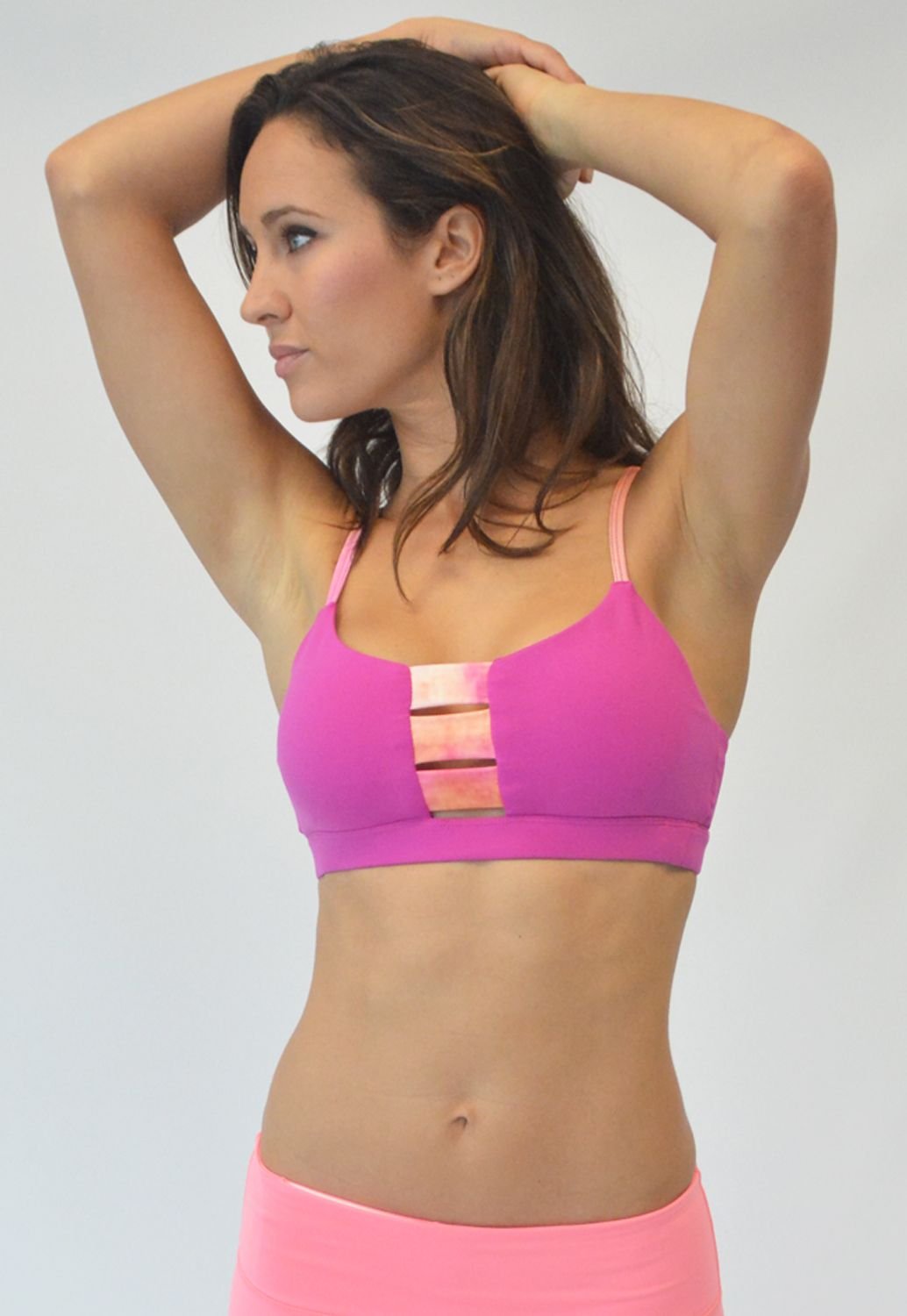 124f5a41ac Aloha - Glyder Cut out detail Sports Bra- So Cute!! - Life is too short too  wear frumpy workout apparel!! High quality Nylon Spandex fabric