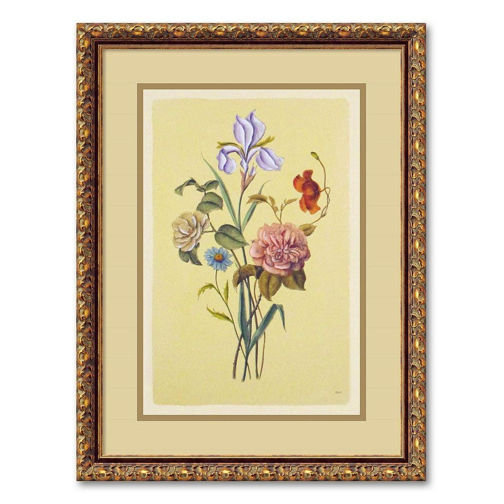 Botanical Bouquet V Framed Wall Art, Multicolor | Products