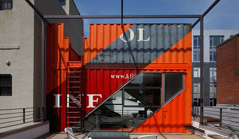 IRVING PLACE - LOT-EK Architecture \ Design Shipping Containers - best of blueprint container house