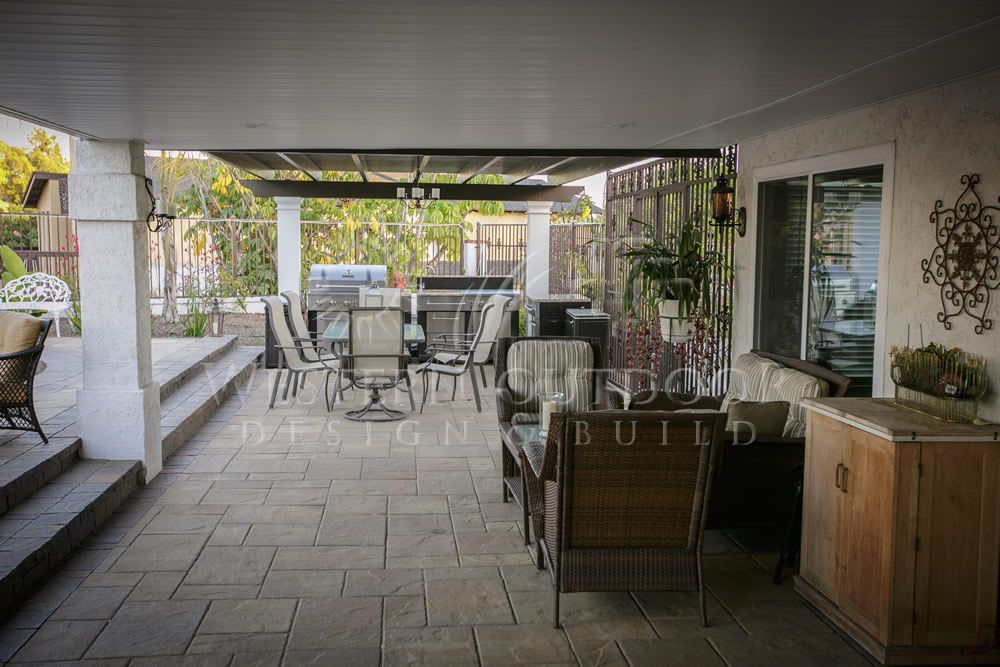 Alumawood Solid Roof Patio Covers San Diego | Outdoor Living ...