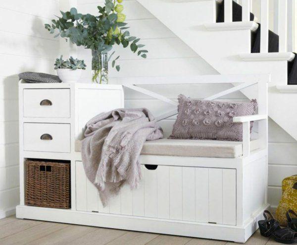 Genial kleine sitzbank mit stauraum | Haus | Pinterest | Kleine ...