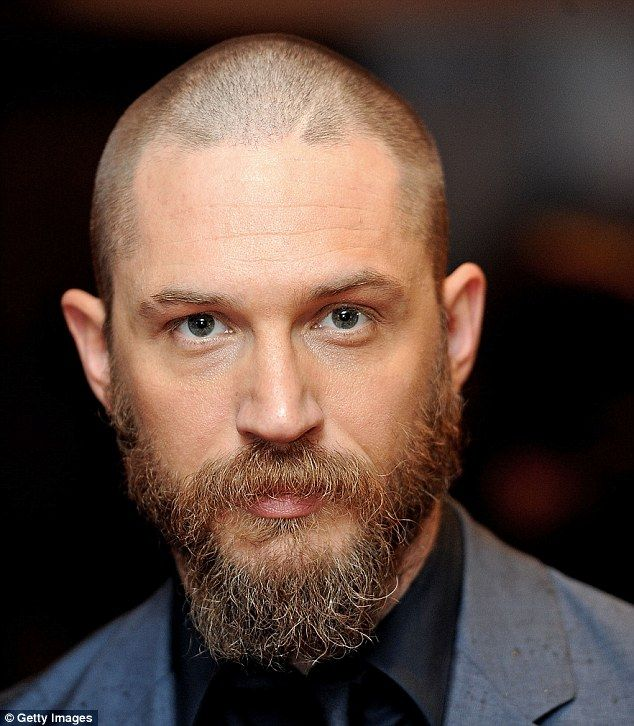 Tom Hardy Unveils Drastic Buzz-cut And Beard At Premiere